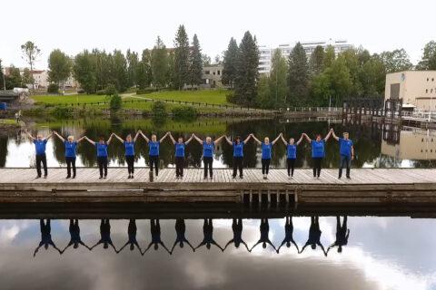 Koko Suomi tanssii -haaste Kainuun liitto