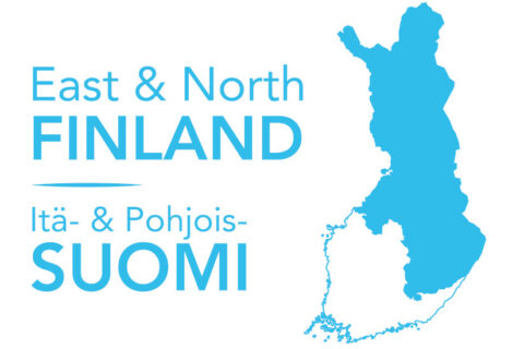 East North Finland logo