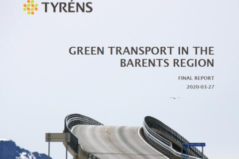 Green Transport kansikuva