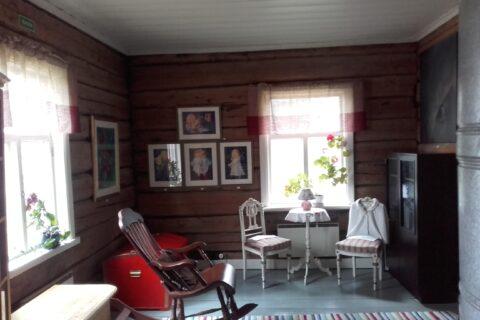 Kukkulan talo Puolangalla