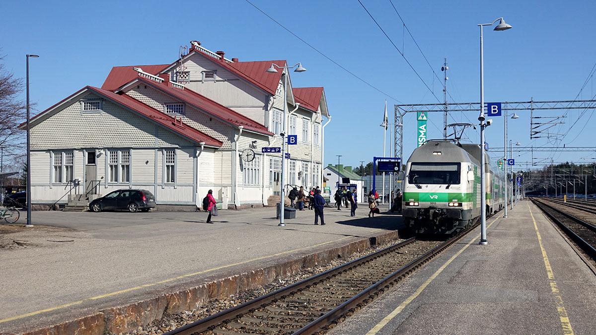 Kajaanin rautatieasema