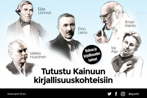 Kirjailijakohteiden esitteen kansikuva 18062021