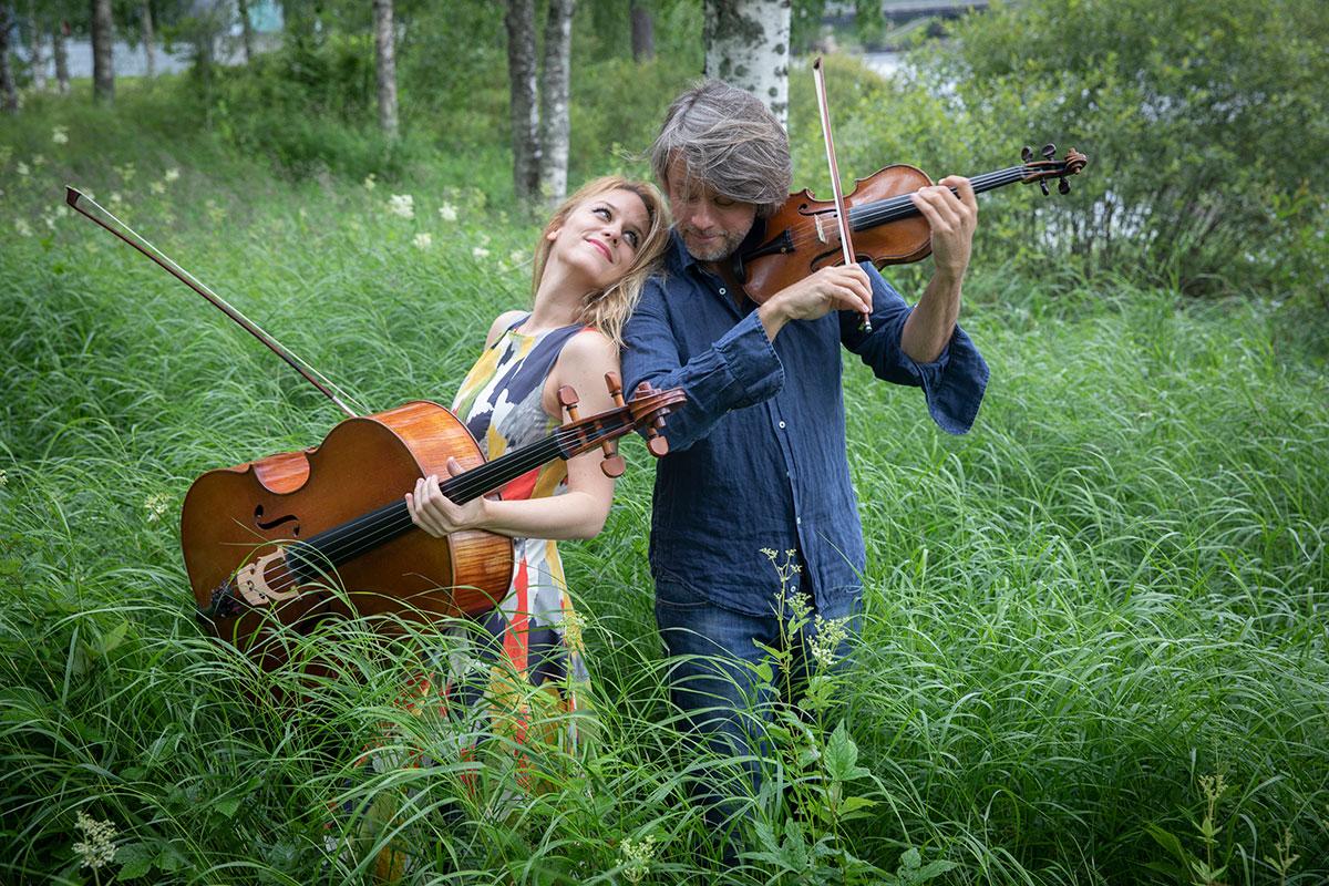 Maja Bogdanovic and Danuel Rowland photo by Stefan Bremer